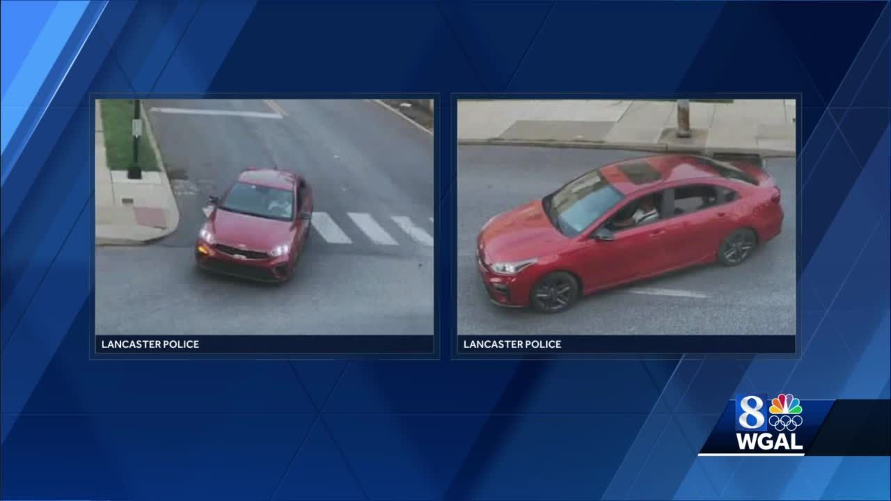 Police release new photos of car involved in hit-and-run in Lancaster
