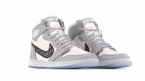 El extraño Mentor Valiente  Dior x Nike Air Jordan 1: zapatillas de lujo para el verano 2020