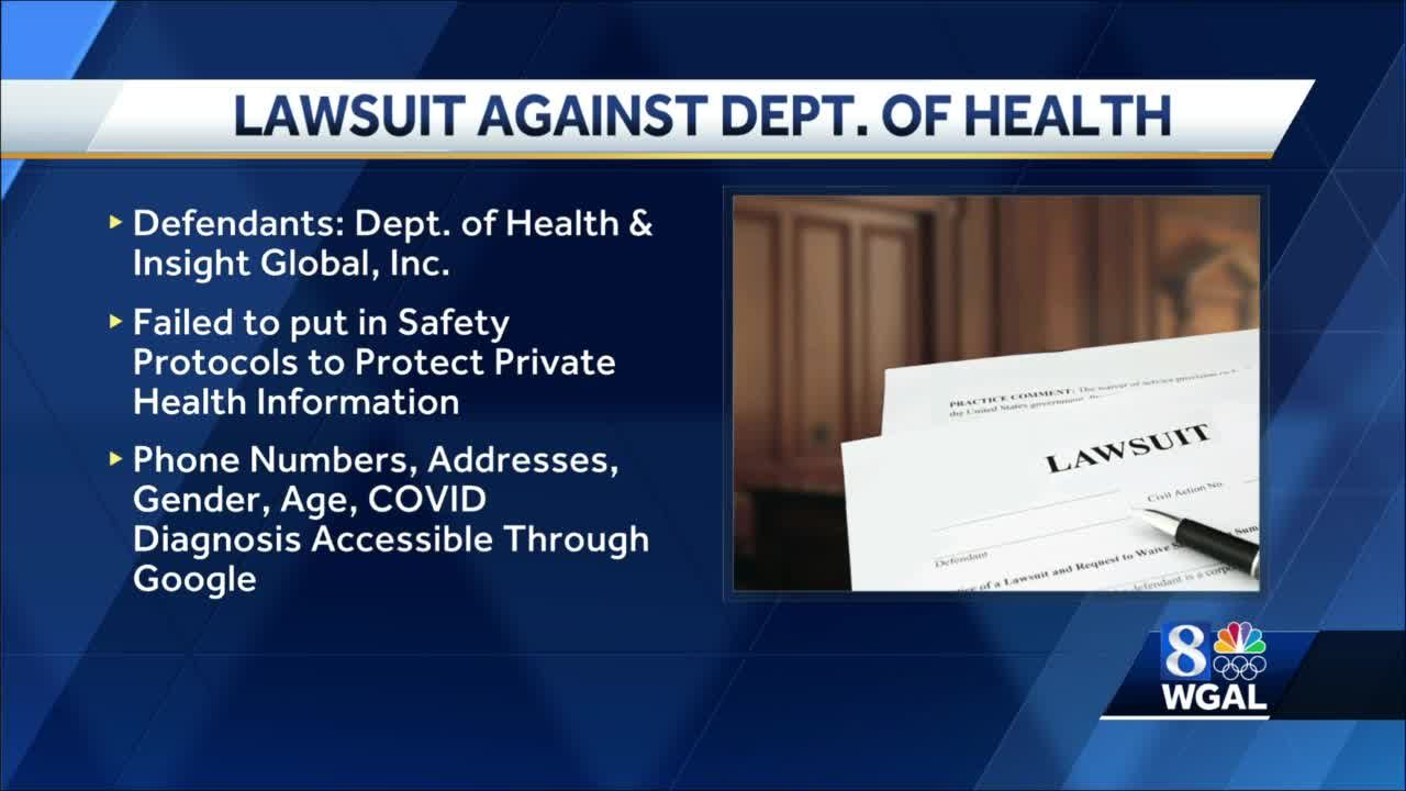 Pennsylvania Department of Health faces lawsuit over contact-tracing data breach
