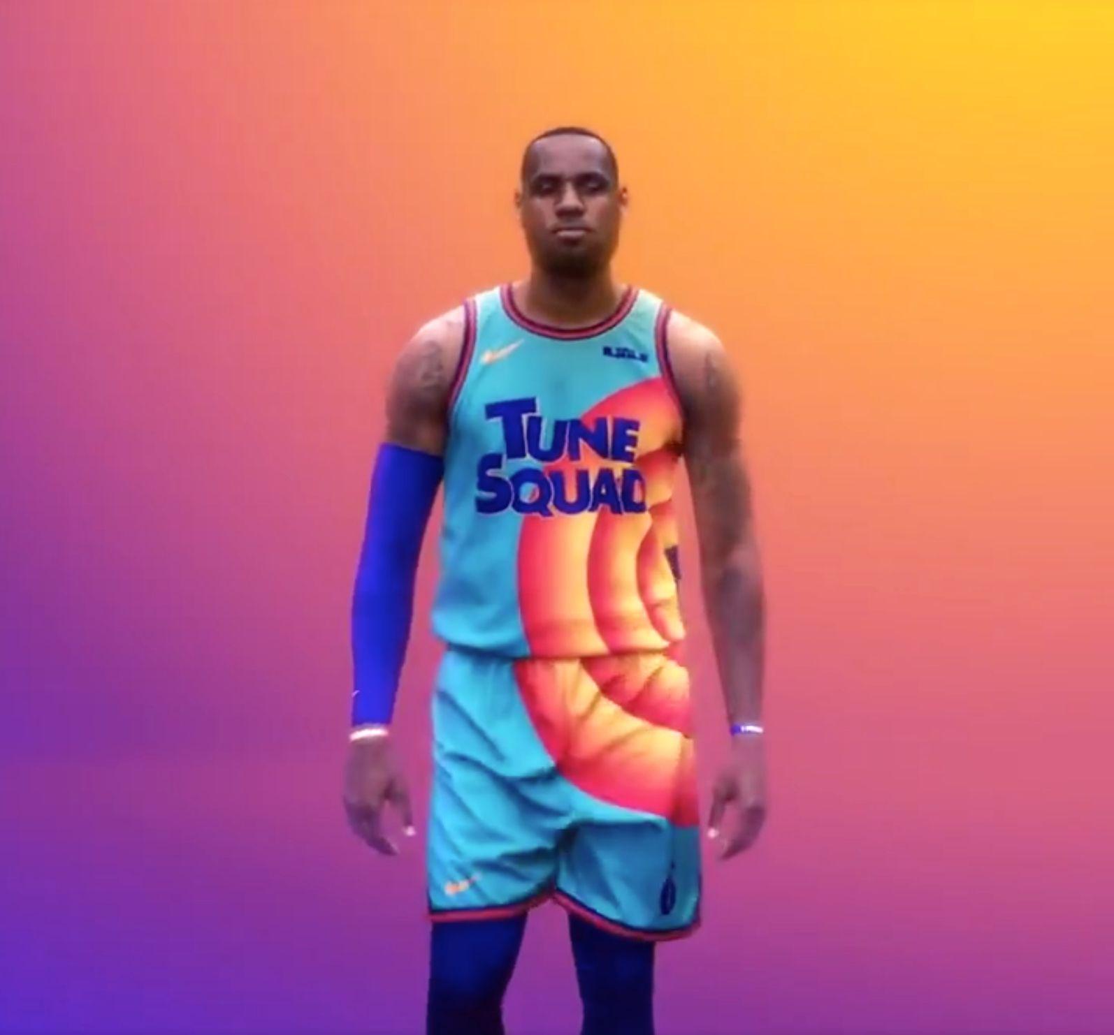 Space Jam 2's LeBron James reveals new