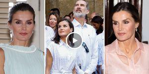 Reyes de España, Letizia en Cuba, Felipe VI, looks Letizia Cuba, estilo de Letizia