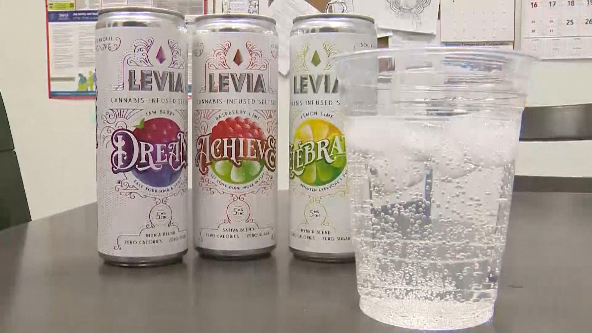 Massachusetts company Levia makes mark with cannabis-infused seltzer water