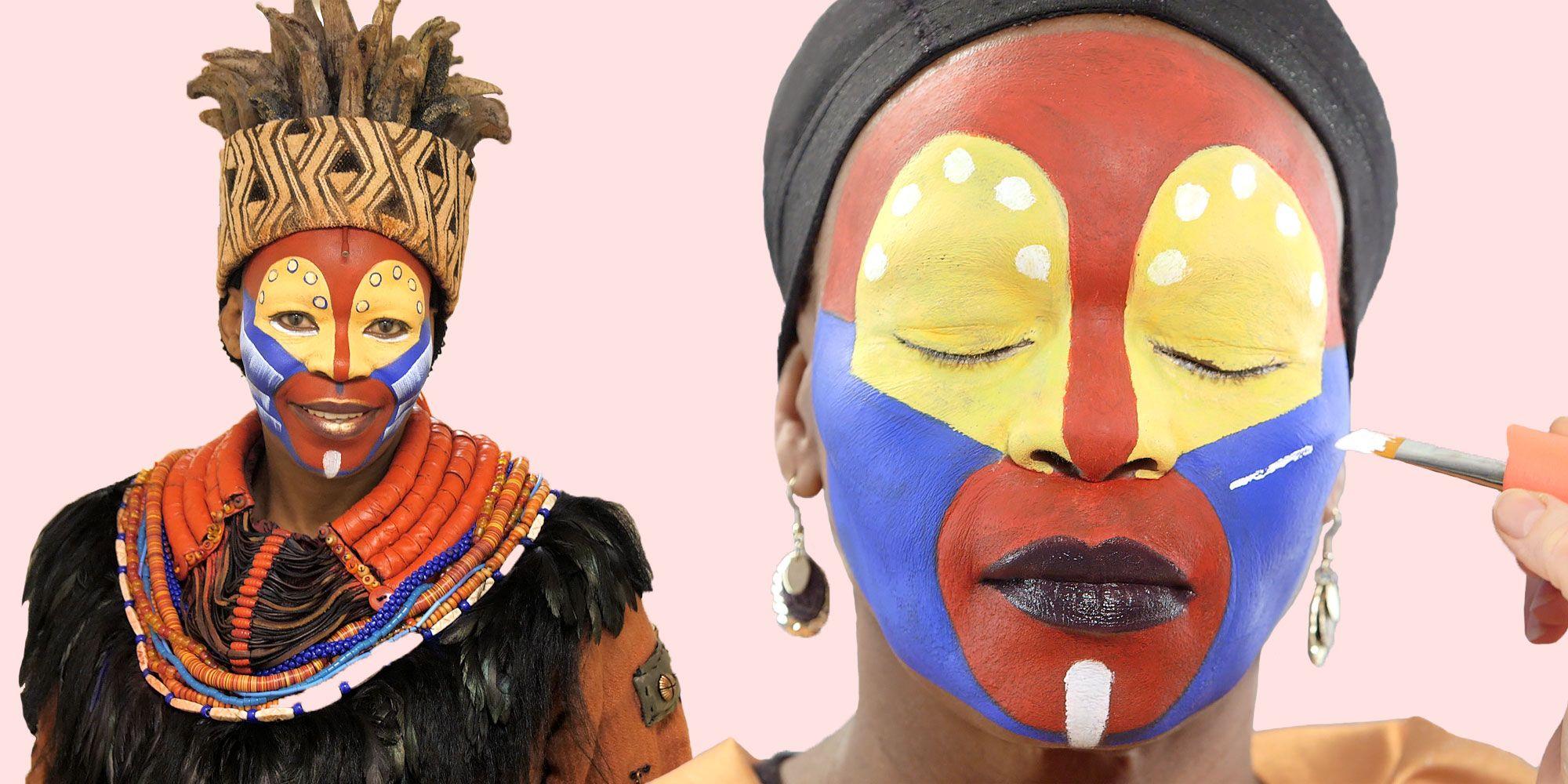The lion king manila rafiki makeup feature youtube.