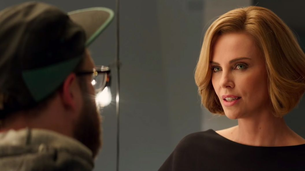 Charlize Theron and Seth Rogen have a very unexpected romance in Long Shot trailer