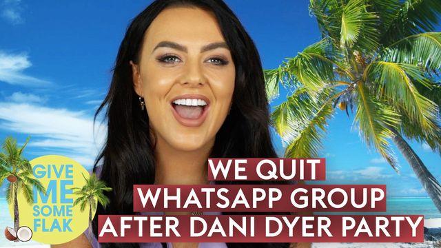 Love Island's Rosie Williams reveals everyone quit the cast WhatsApp