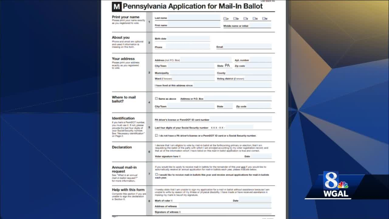 8 On Your Side: Viewer wonders why they received multiple mail-in ballot applications