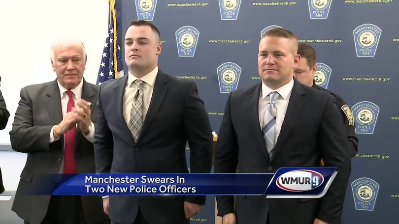 Manchester swears in two new police officers