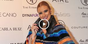 María Jesús Ruiz, ganadora GH Dúo, gran hermano dúo, Tony Fernández, Desfile Tony Fernandez, navidades de famosos