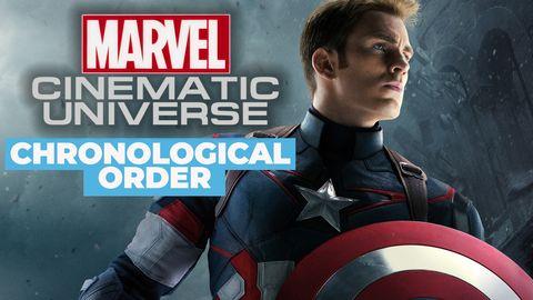 Mcu In Order Marvel Cinematic Universe In Chronological Order