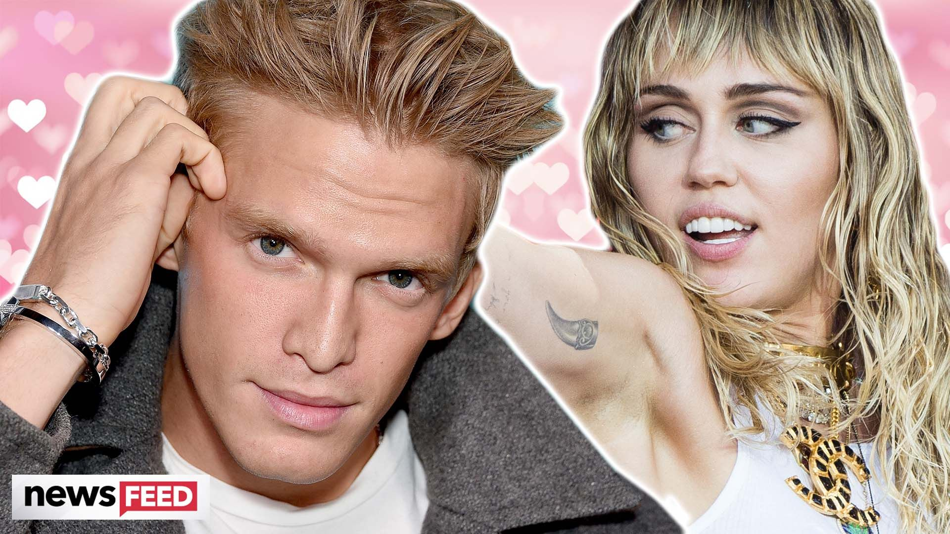 Miley Cyrus Wears Lacy Black Lingerie In Two New NSFW Photos With Cody Simpson