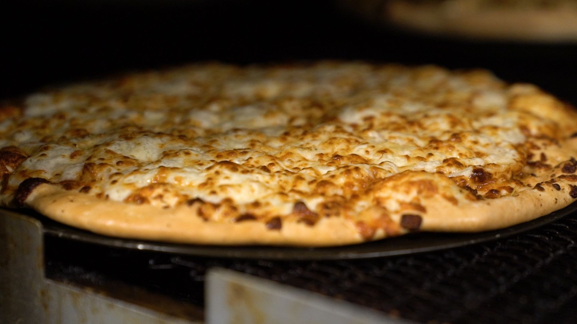 Can you guess what's on top of a Minsky's Pizza?