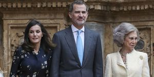 Misa de Pascua 2019, Reyes de España, Reina Emérita, Letizia Ortiz, Rey Felipe VI, Reina Sofía, familia real