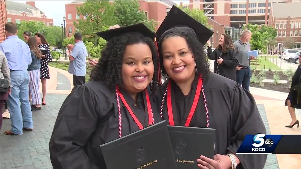 Mother, daughter graduate together from Oklahoma State University