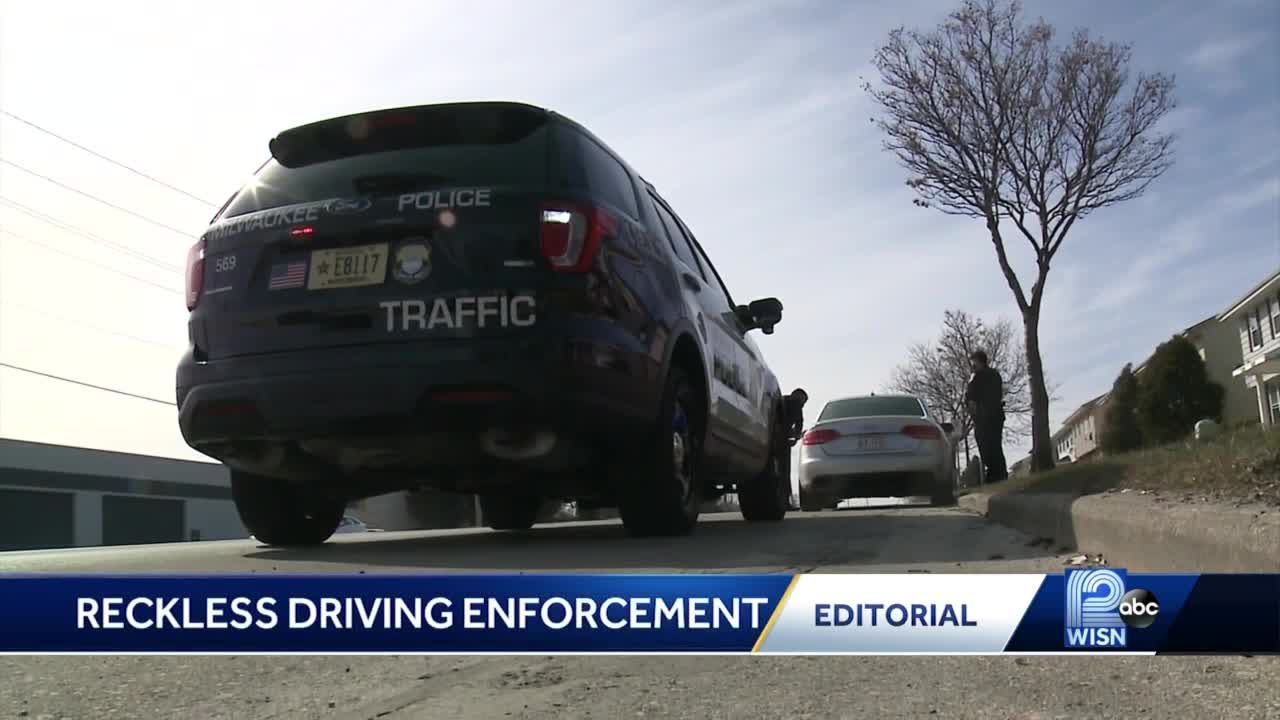 WISN 12 Editorial: Reckless driving becomes an epidemic in Milwaukee