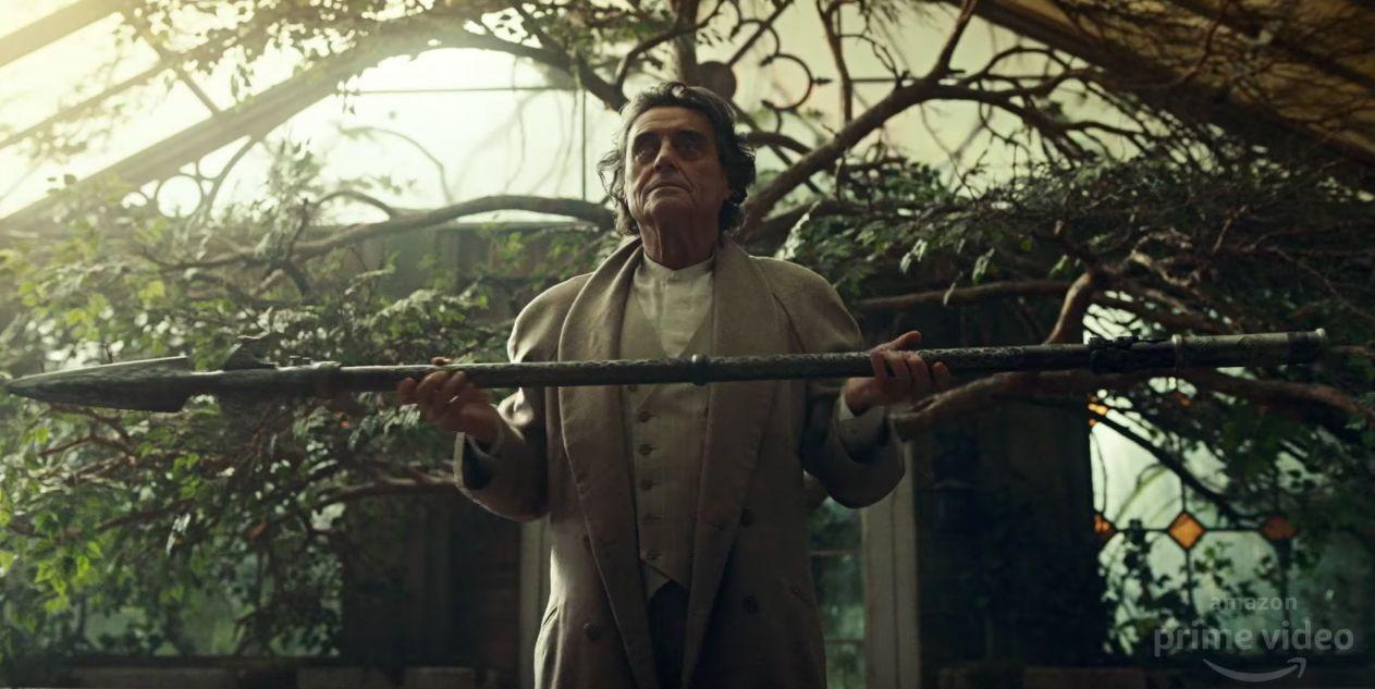Ian McShane as Mr Wednesday in American Gods season 2 trailer