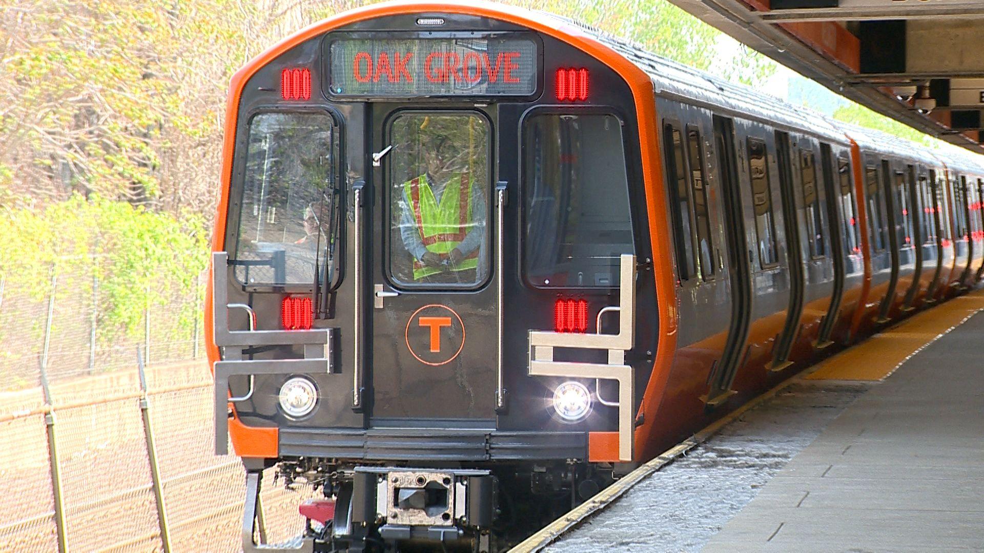 Ride bostons orange line mbta subway train of the future sciox Gallery