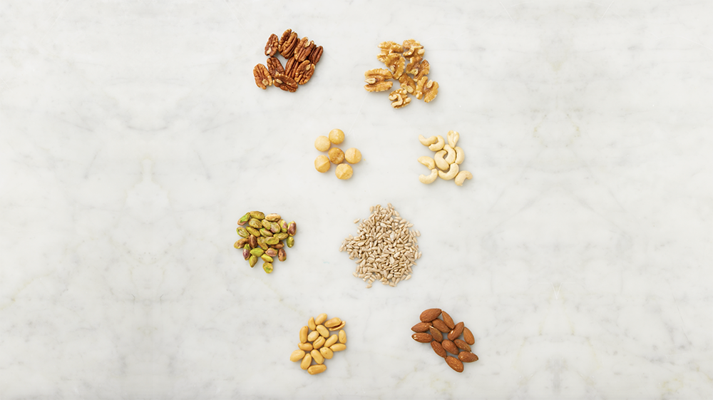 This Is What 100 Calories Of Nuts Looks Like
