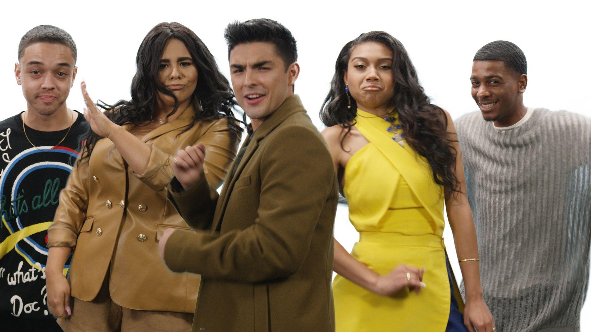 Watch The Cast Of Netflix S On My Block Try Viral Tiktok Dances
