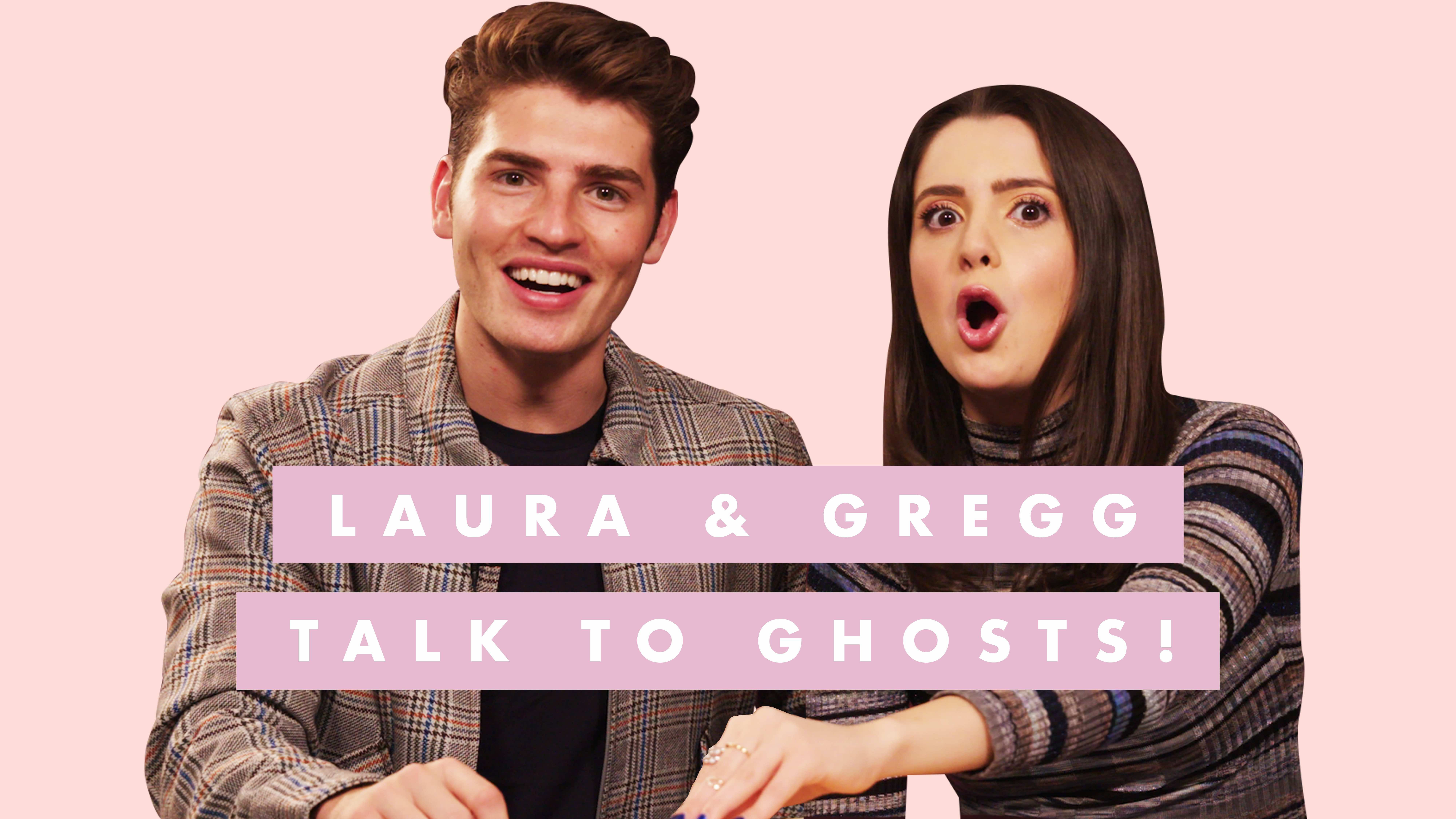 Watch 'A Cinderella Story: Christmas Wish' Stars Gregg Sulkin and Laura Marano Get Their Sh*t Handed to Them By a Ouija Board