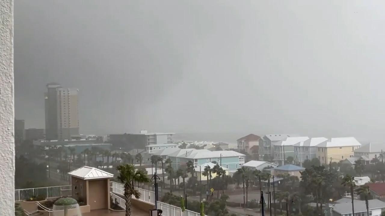Panama City Beach waterspout