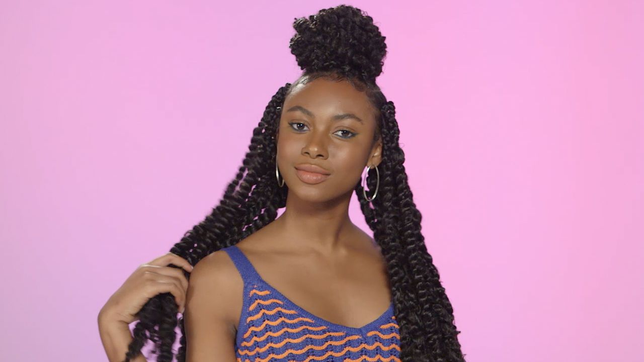 How to Create Passion Twists Hairstyles - Two-Strand Twist