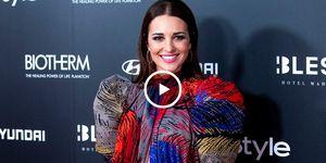Paula Echevarría, actriz, maquillaje joya, Paula Echevarria maquillaje, Miguel Torres