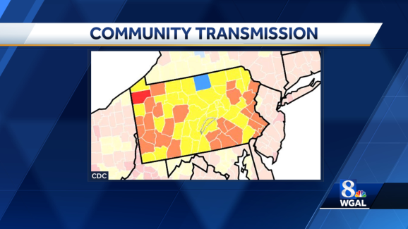 More Susquehanna Valley counties see 'substantial' level of COVID-19 transmission