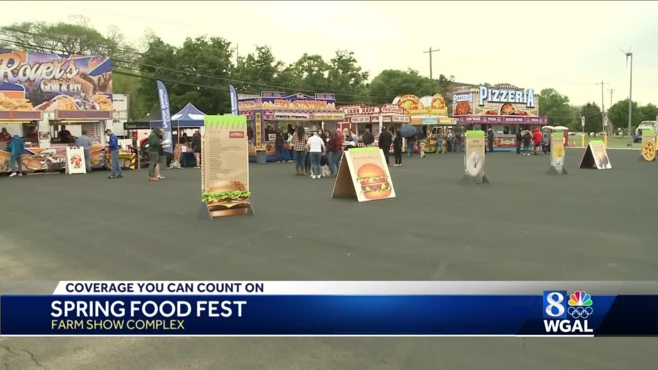 Pennsylvania Farm Show Spring Food Fest underway this weekend