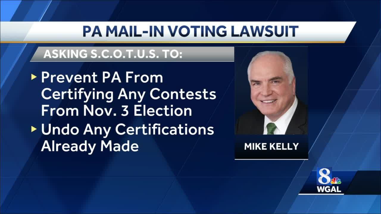 Pennsylvania Republicans ask Supreme Court to overturn state's election results
