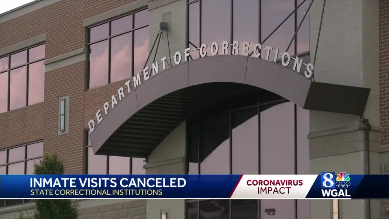 Prison Visits Canceled In Pa Because Of Coronavirus
