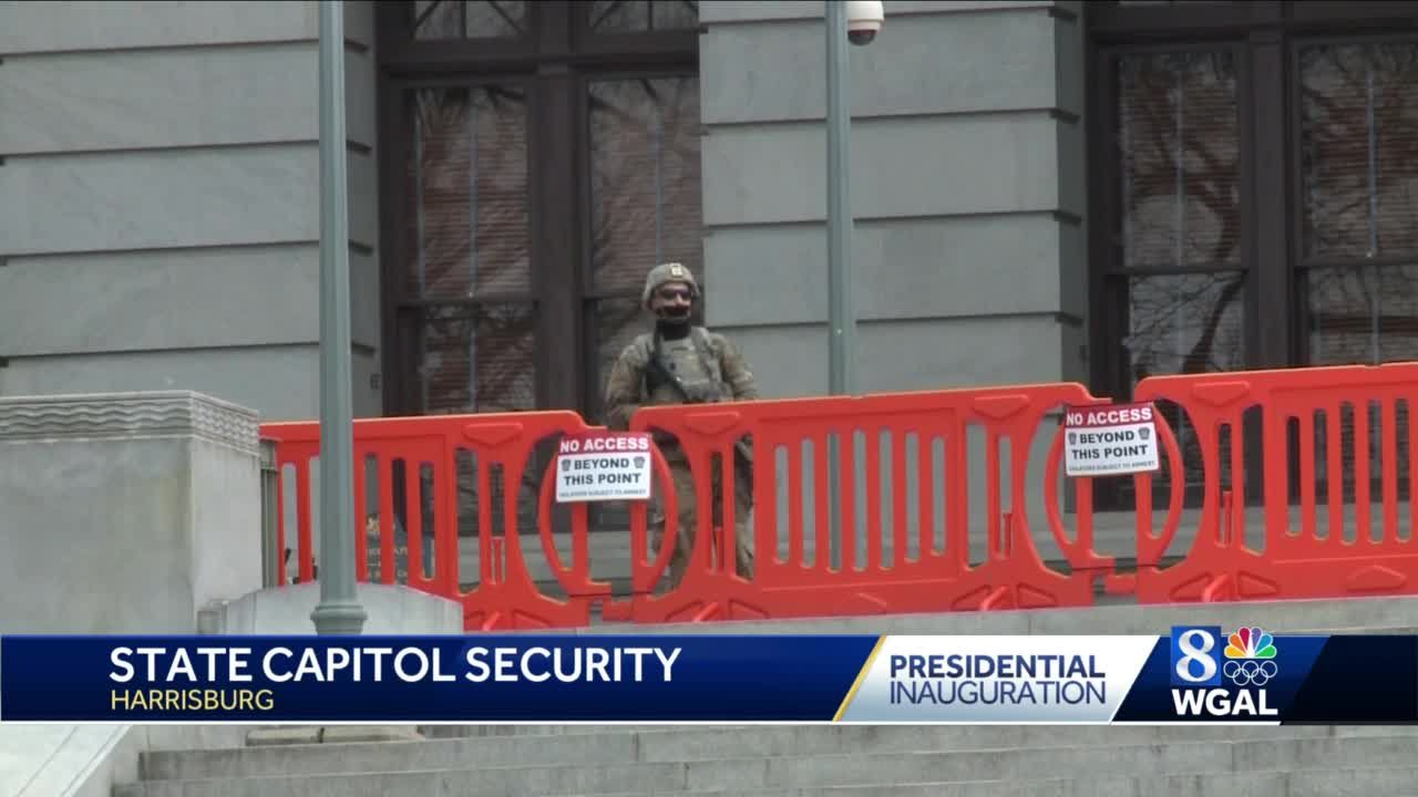 Increased security measures remain in place at Pennsylvania Capitol