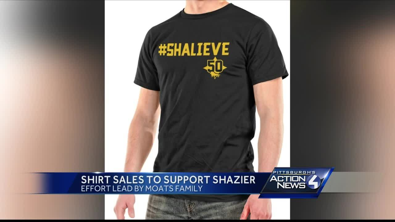 c19181b022d Shalieve shirt sales to support Shazier led by Moats family