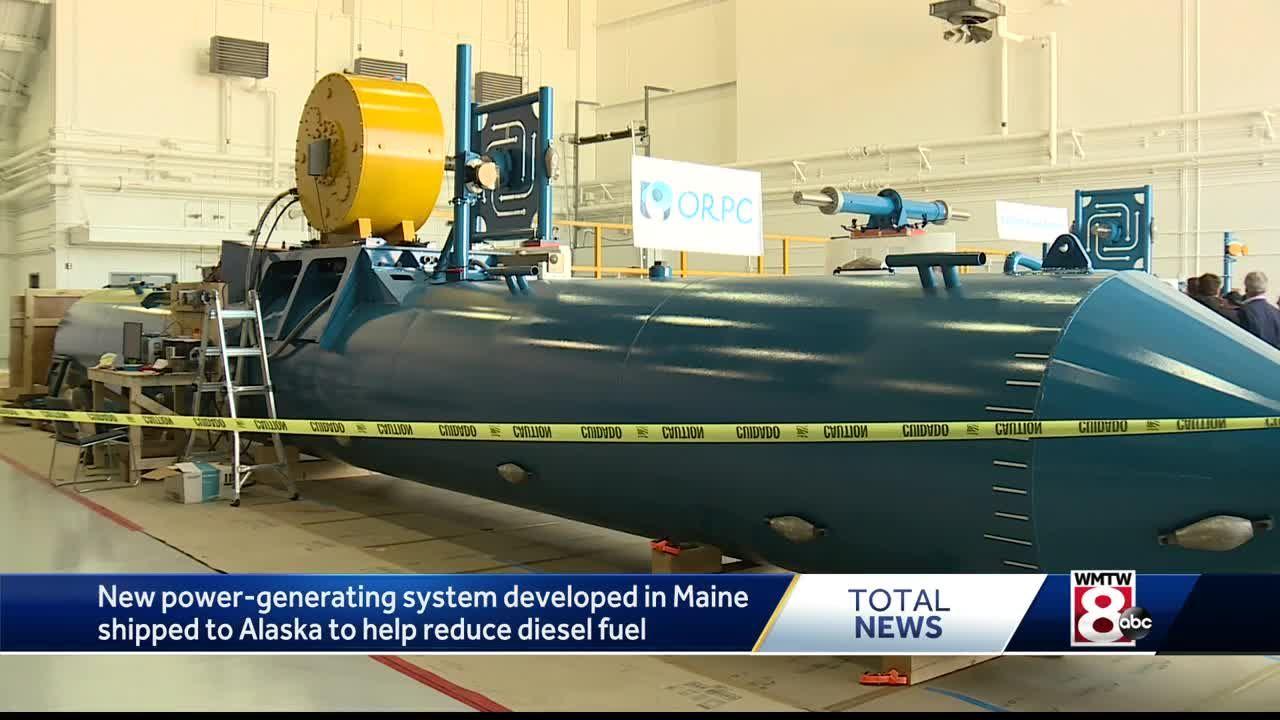 Maine company creates new technology to power small Alaska town