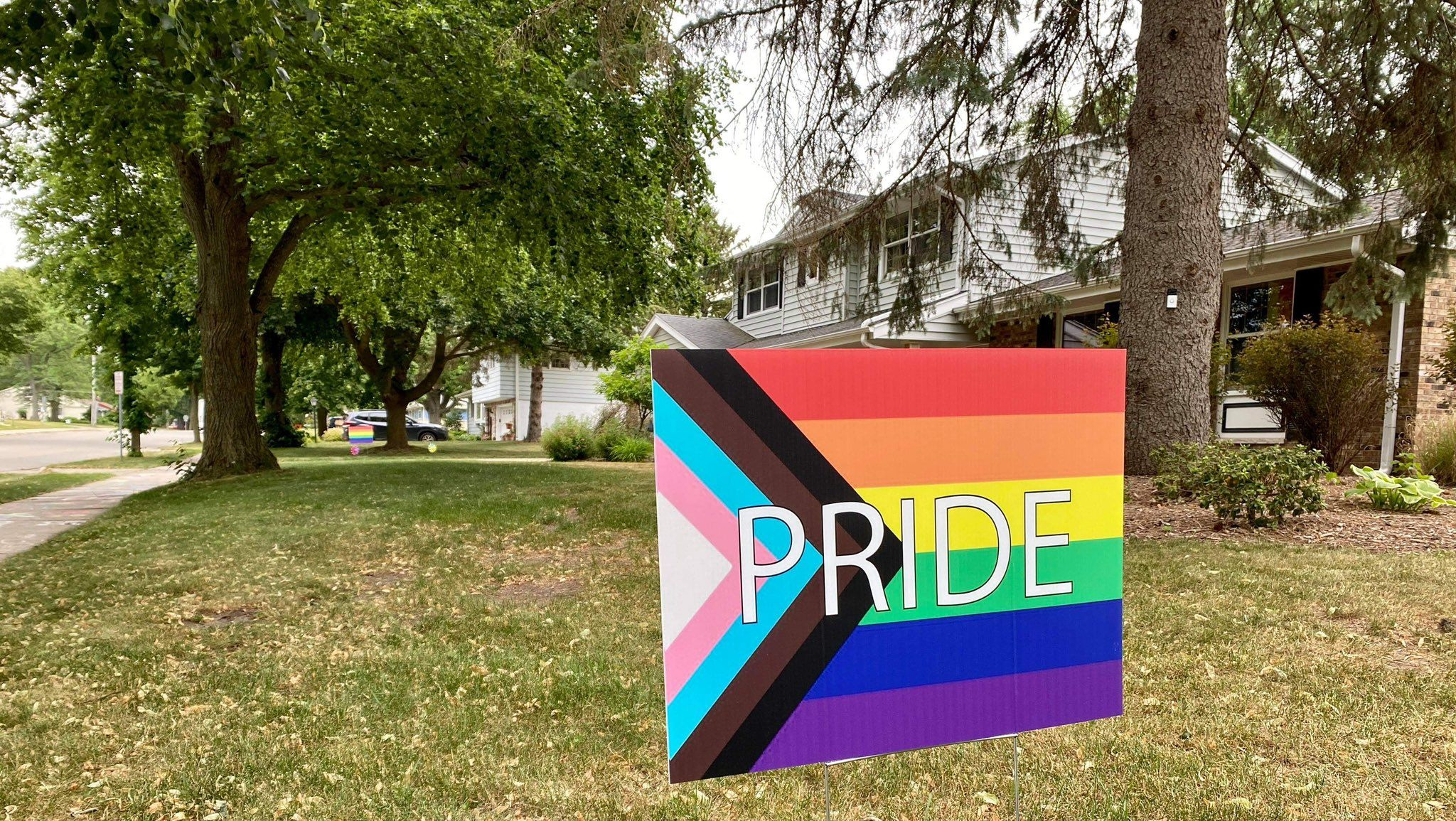 Community responds after Pride signs continue getting stolen and vandalized