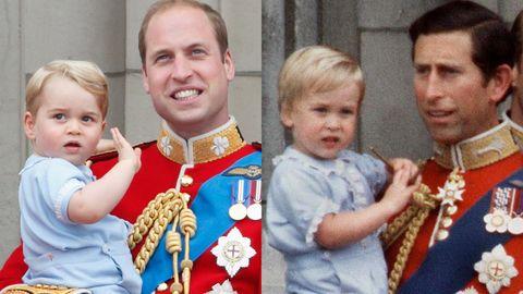 Prince George Receives - BiographyFlash