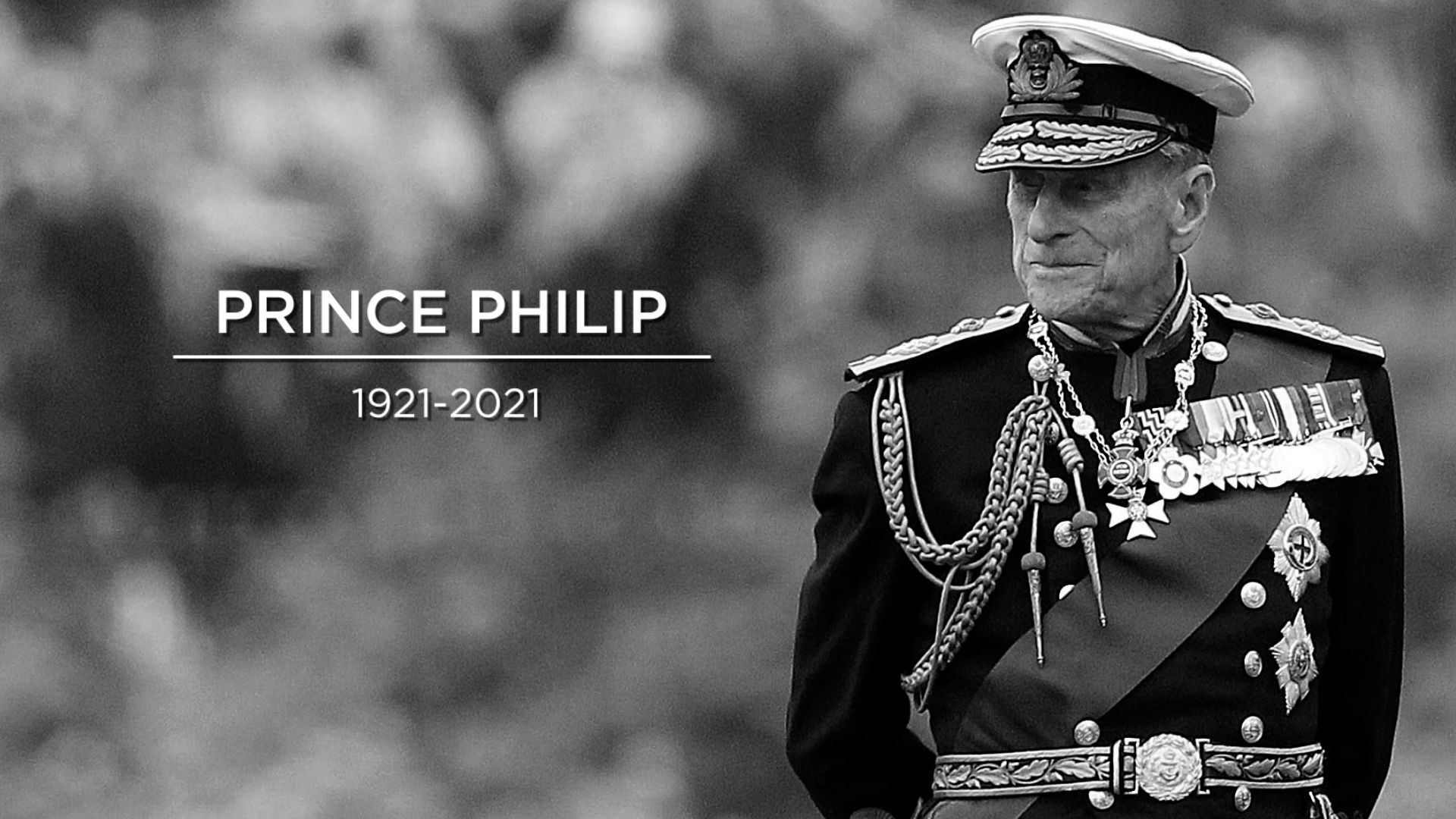 Prince Philip: Tribute to Duke of Edinburgh by Military
