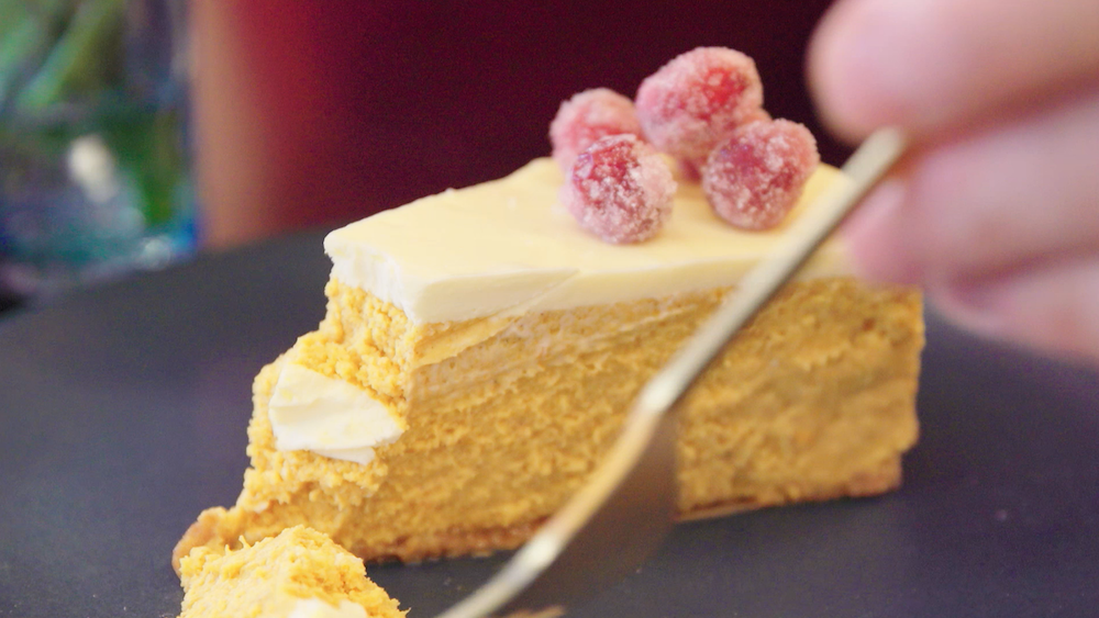 This Two-Layer Pumpkin Cheesecake Recipe Is the Best Thing You'll Eat This Fall