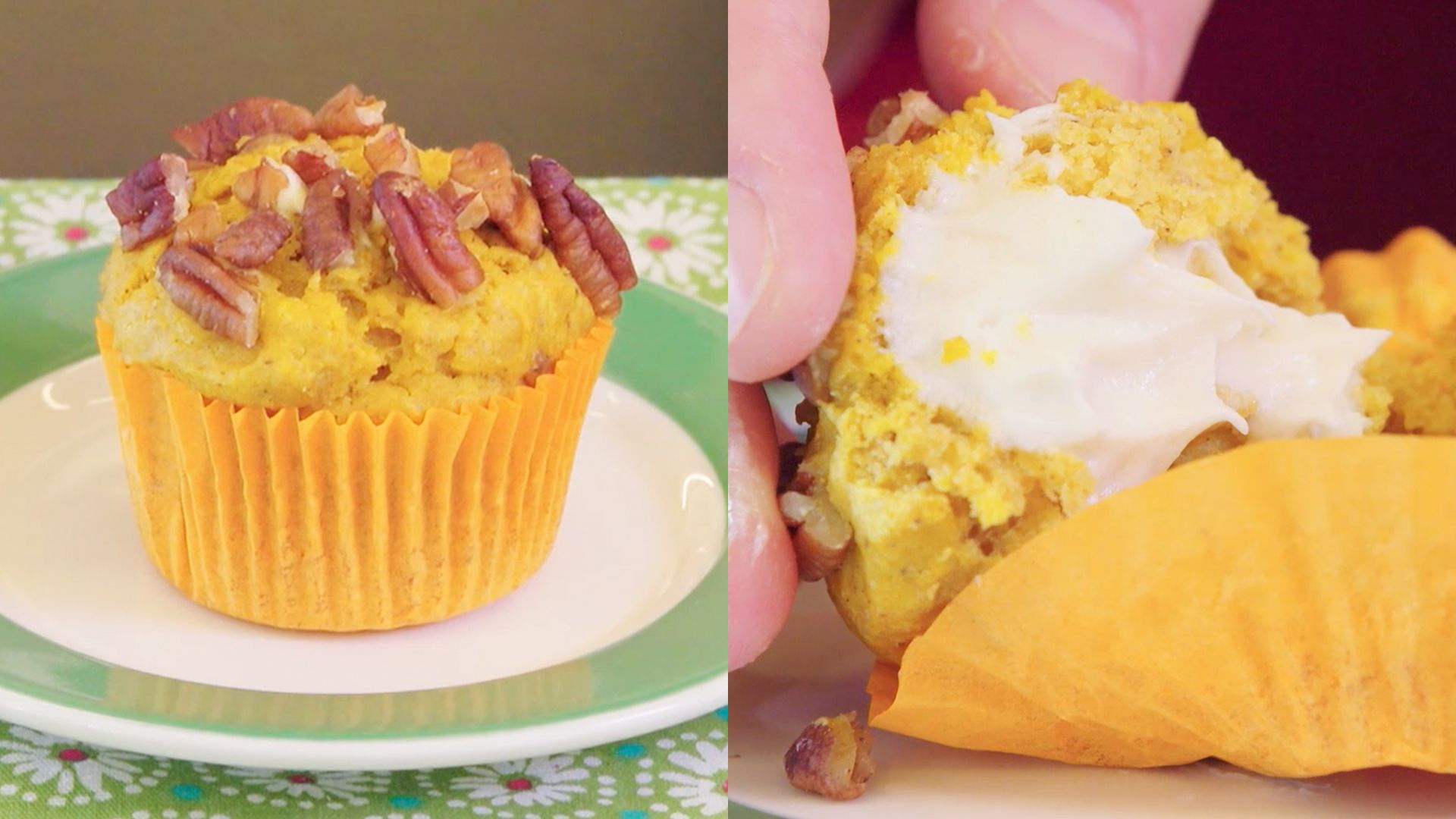 The Only Cream Cheese Pumpkin Muffin Recipe You'll Want to Make This Fall