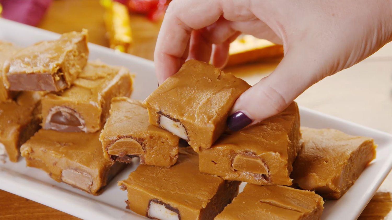 Three-Ingredient Quality Street Fudge
