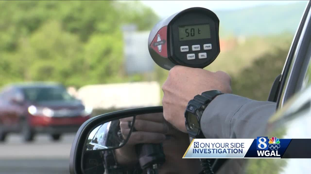 Pennsylvania bill would allow local police to use radar for speed enforcement