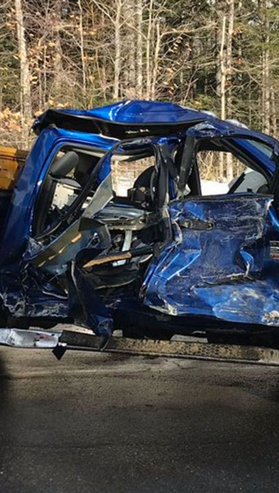 Raw video: Fatal crash scene in Randolph