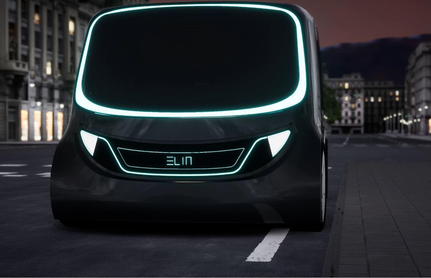 Elin, el concept car español para la ciudad conectada