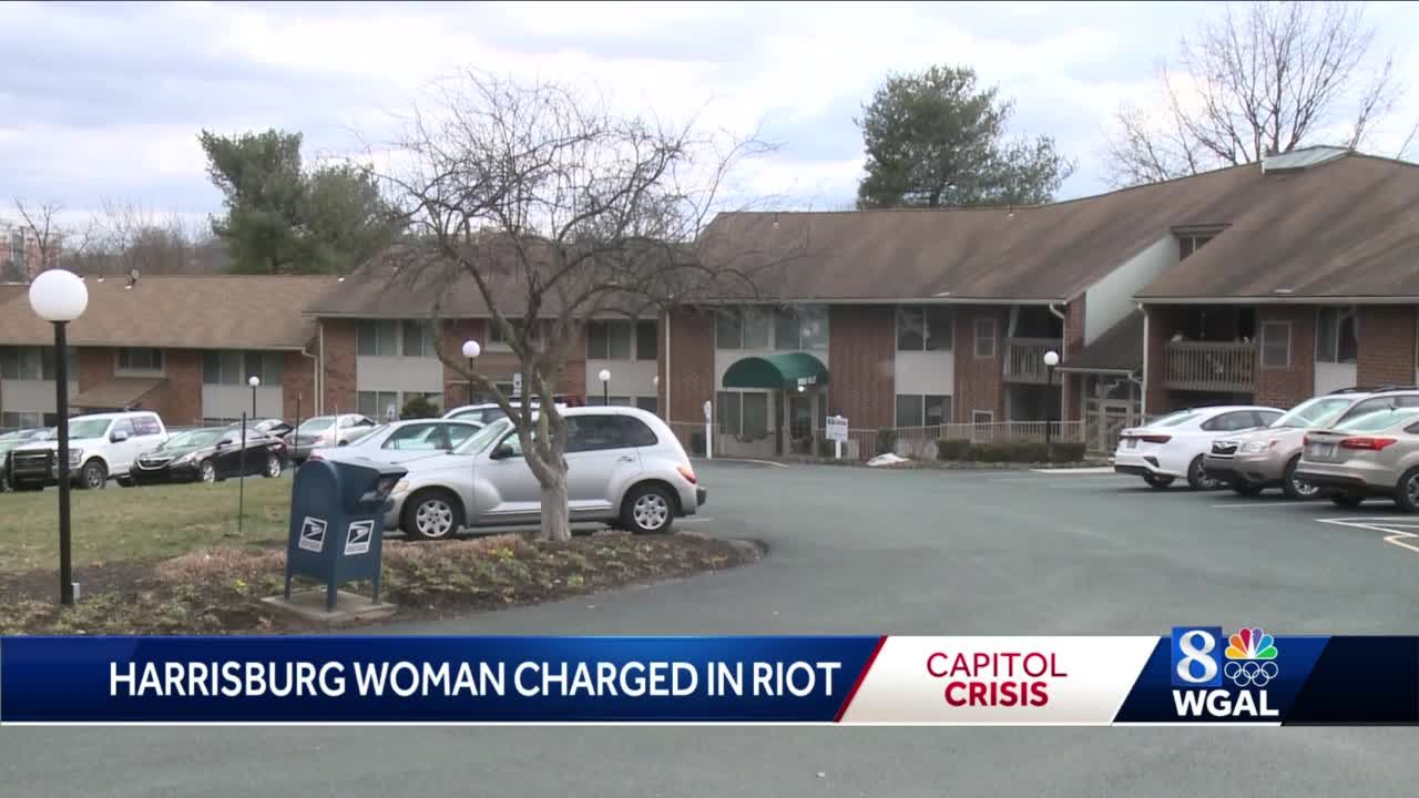 WGAL attempts to speak with parents of Harrisburg woman charged in US Capitol riot