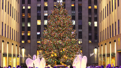 How to Watch and Live Stream the Rockefeller Christmas Tree Lighting 2018