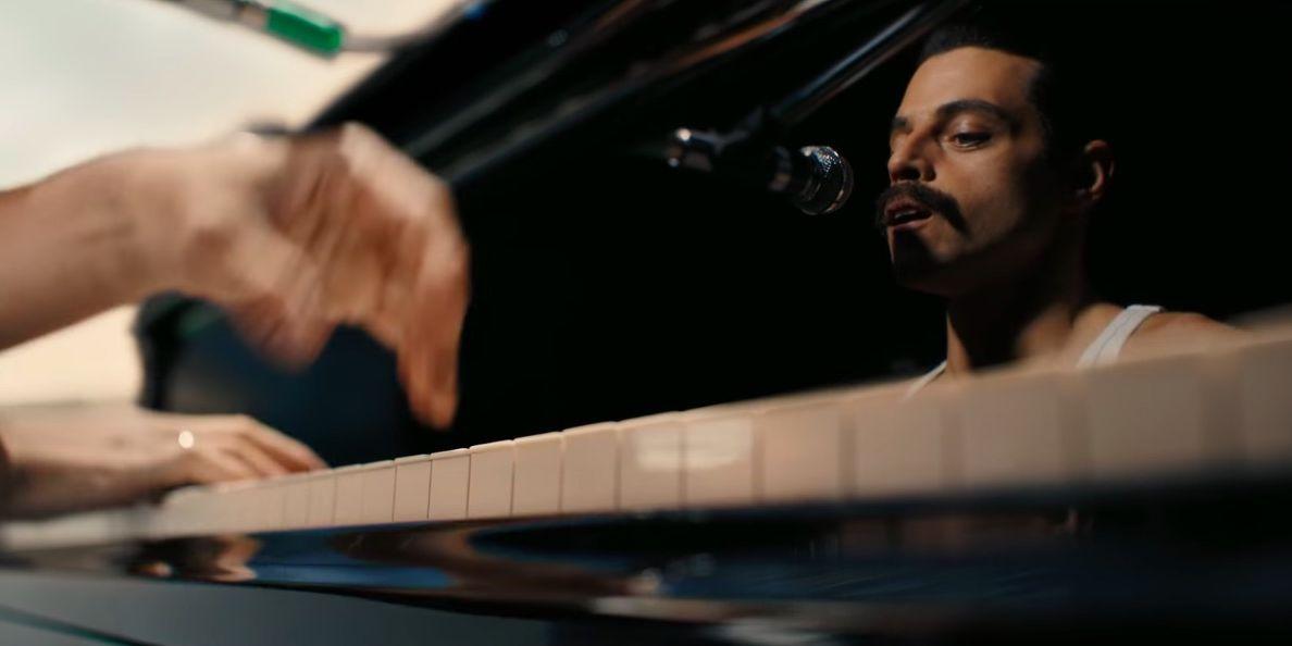 Rami Malek as Queen's Freddie Mercury in Bohemian Rhapsody