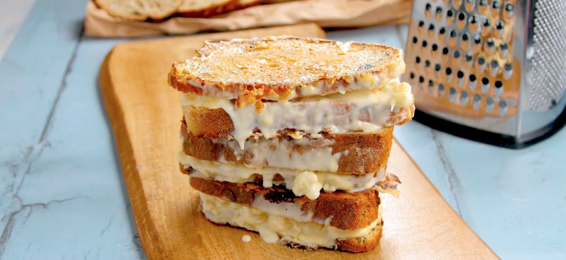 Cauliflower Cheese Toastie