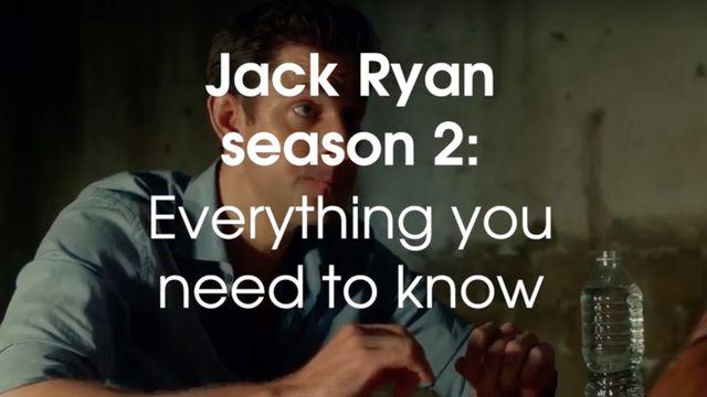 Jack Ryan season 2 release date, cast, plot