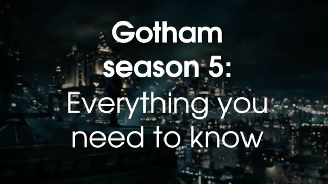 Gotham season 5: Release date, plot, cast, Netflix and everything
