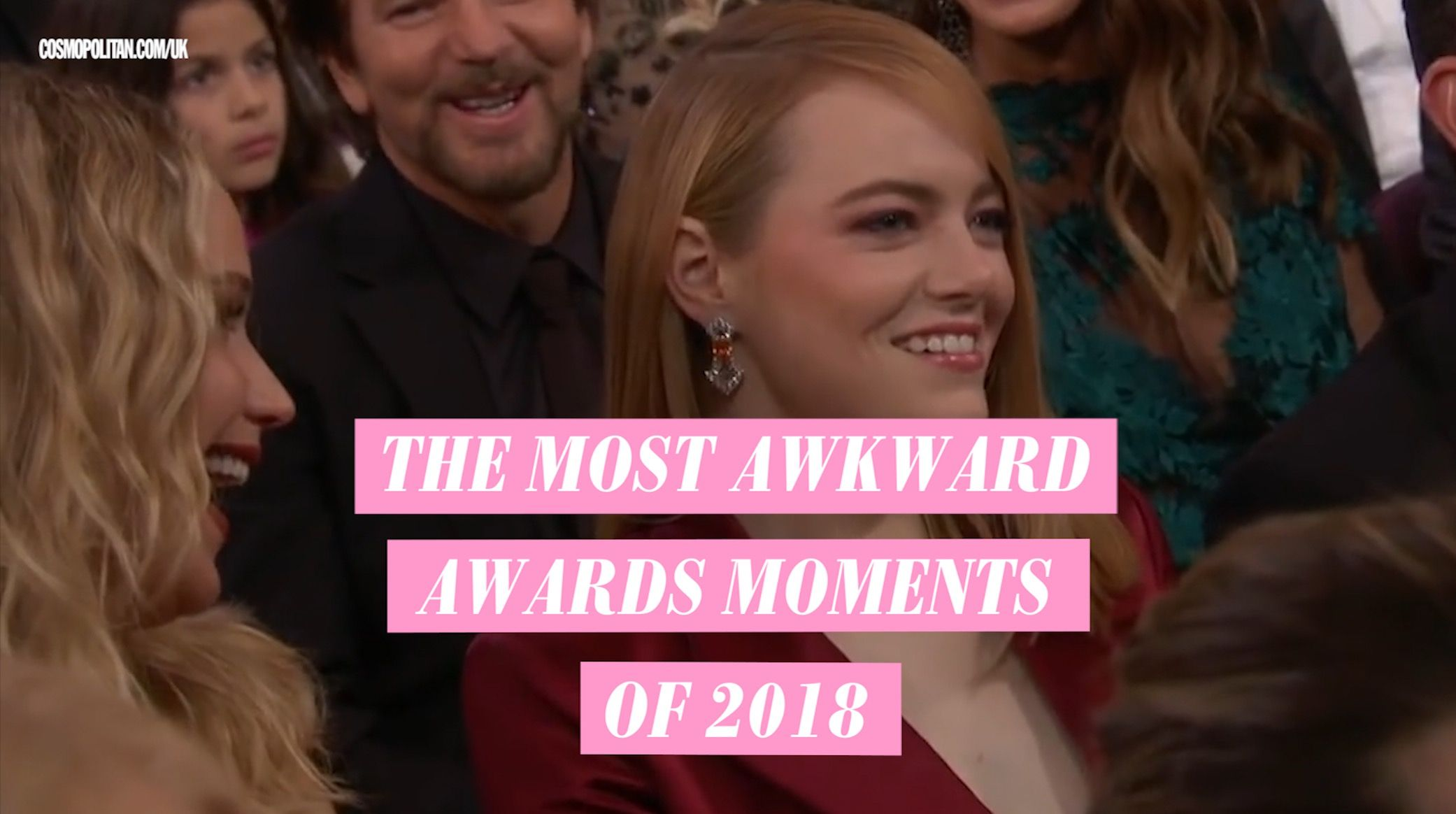 The most heinously awkward award show moments of 2018
