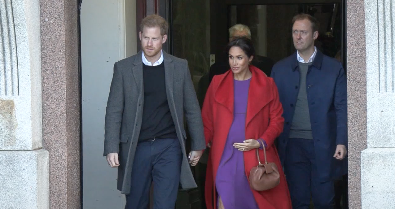Meghan Markle & Prince Harry Are Allegedly Considering a Move to Africa